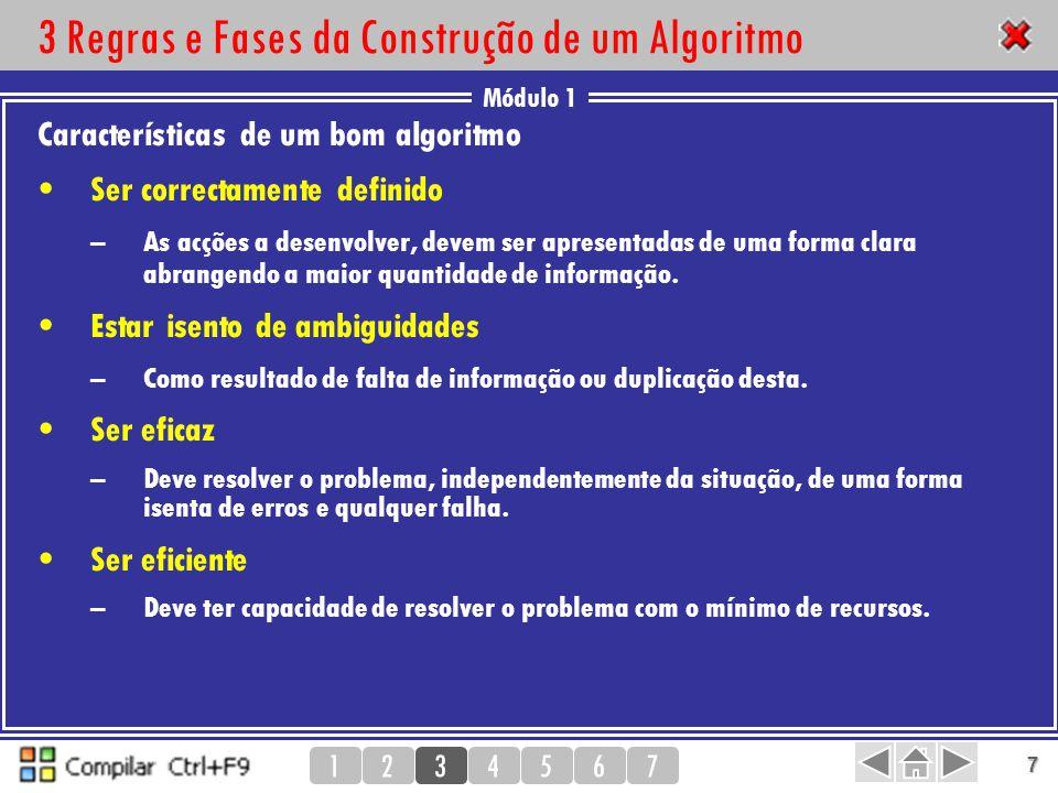 3 Regras e Fases da Construção de um Algoritmo