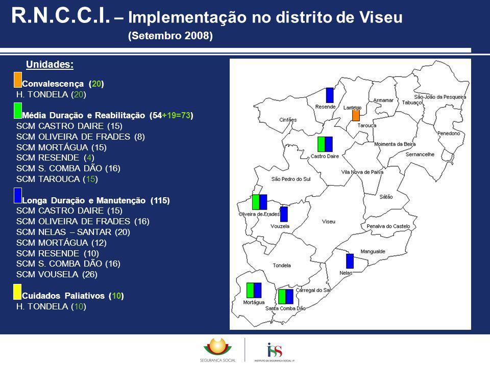 R.N.C.C.I. – Implementação no distrito de Viseu (Setembro 2008)