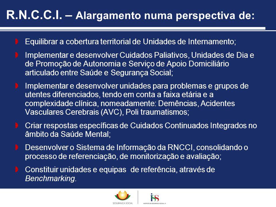 R.N.C.C.I. – Alargamento numa perspectiva de: