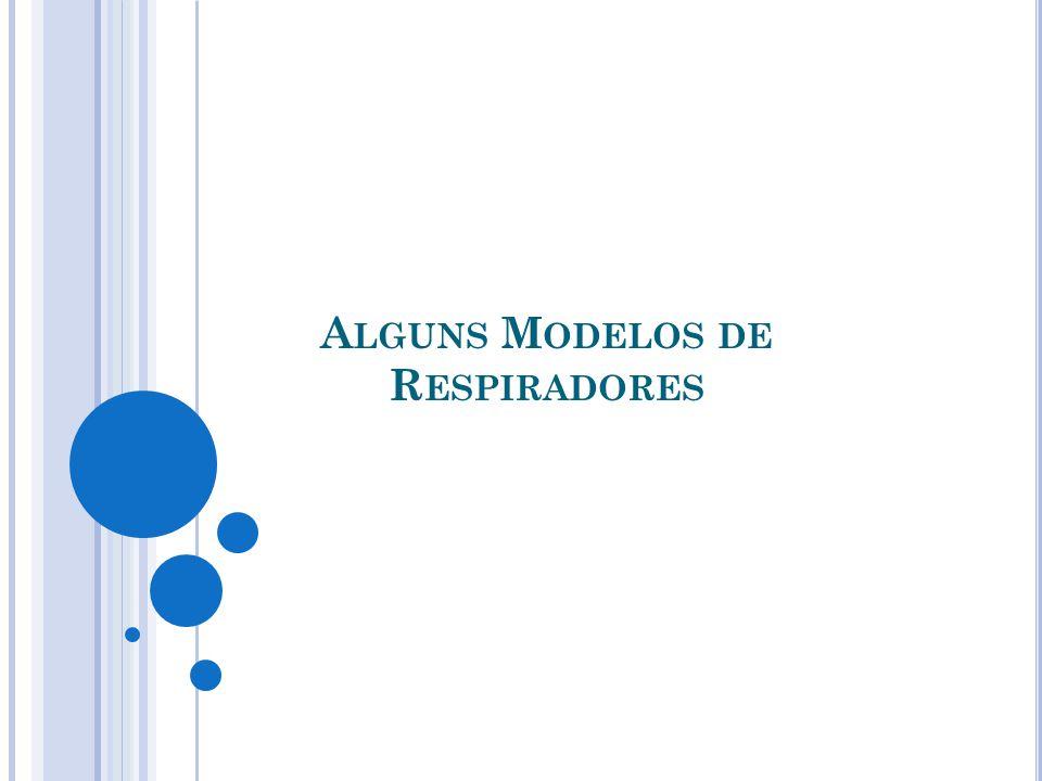 Alguns Modelos de Respiradores
