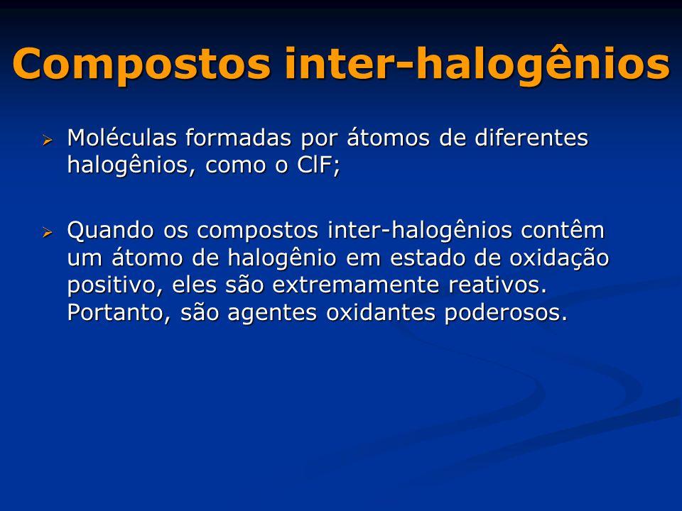 Compostos inter-halogênios