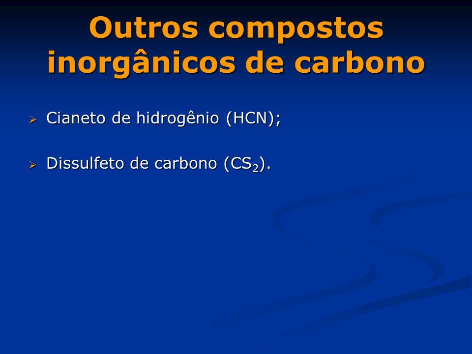 Outros compostos inorgânicos de carbono