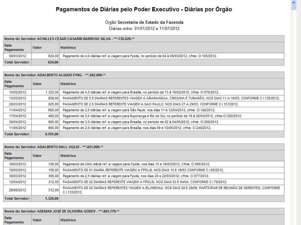 Colar telas exemplos maiores fornecedores pagamentos (escolher 1 UG)