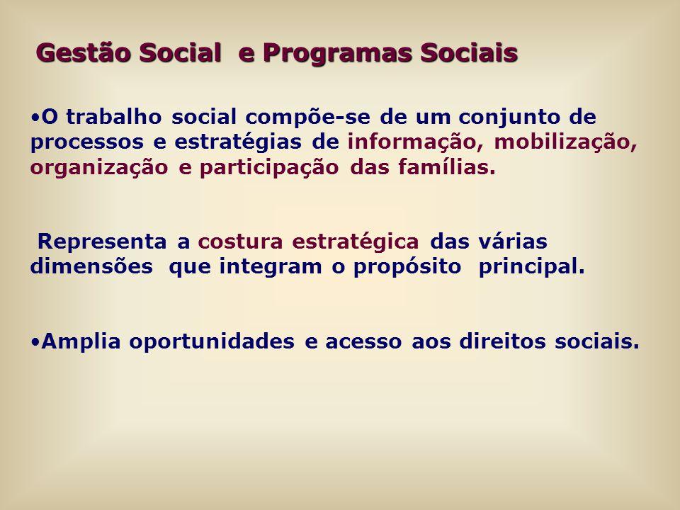 Gestão Social e Programas Sociais