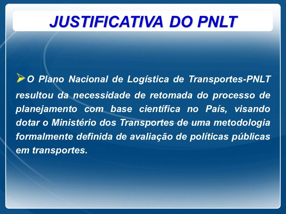 JUSTIFICATIVA DO PNLT