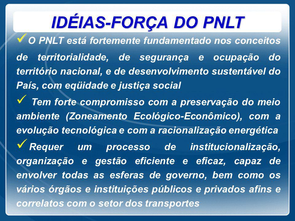 IDÉIAS-FORÇA DO PNLT