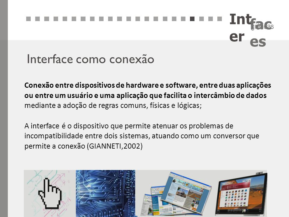Inter Interface como conexão