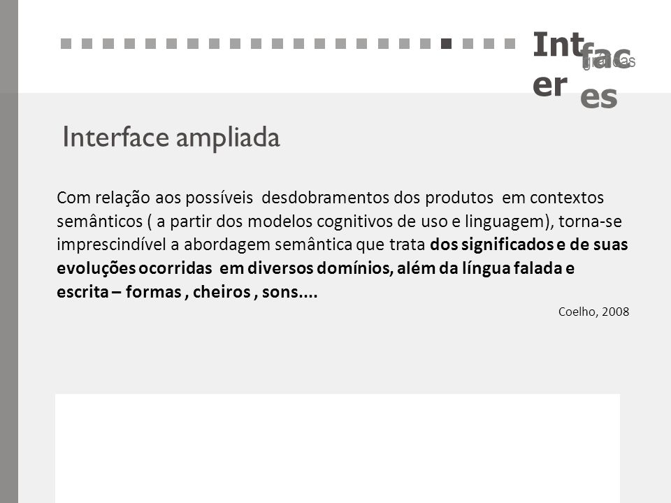 Inter Interface ampliada