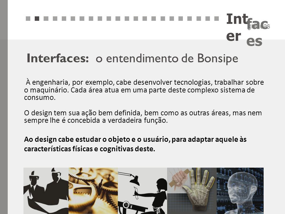 Inter Interfaces: o entendimento de Bonsipe