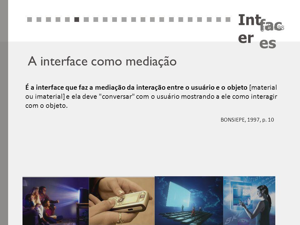 Inter A interface como mediação