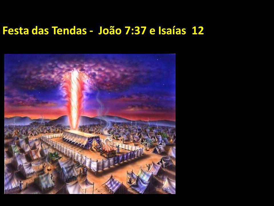 Festa das Tendas - João 7:37 e Isaías 12