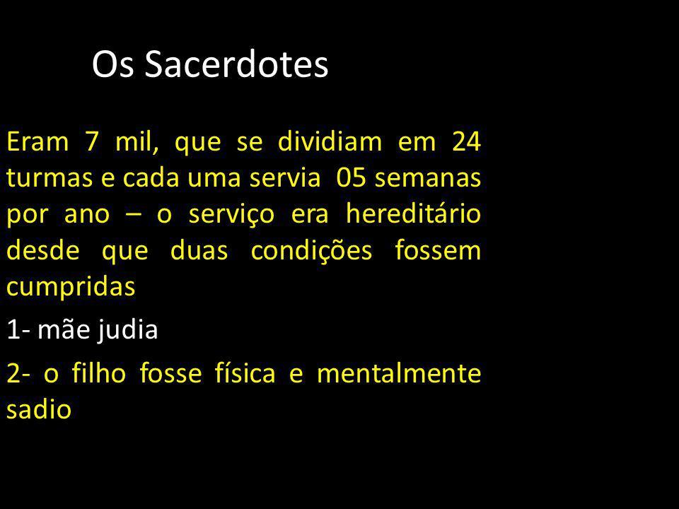 Os Sacerdotes