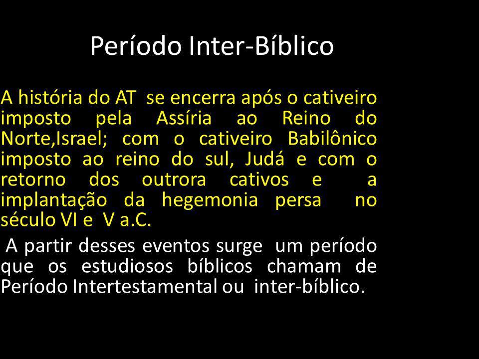 Período Inter-Bíblico
