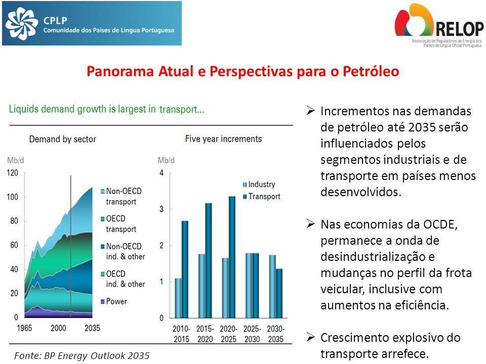 Panorama Atual e Perspectivas para o Petróleo