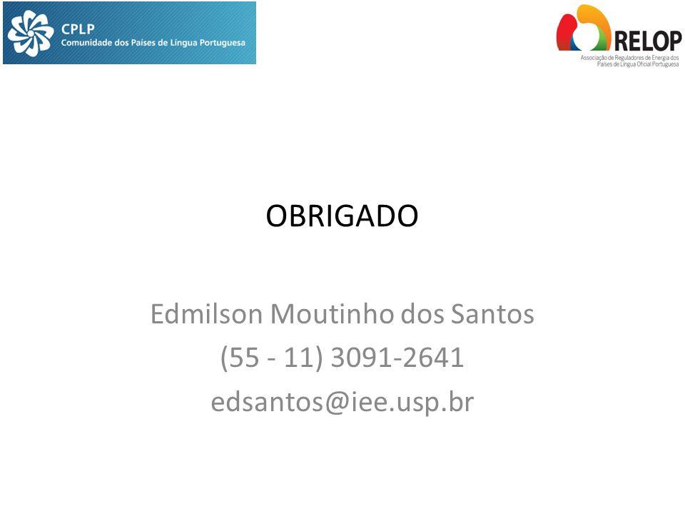 Edmilson Moutinho dos Santos (55 - 11) 3091-2641 edsantos@iee.usp.br