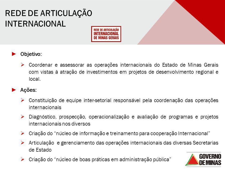 REDE DE ARTICULAÇÃO INTERNACIONAL