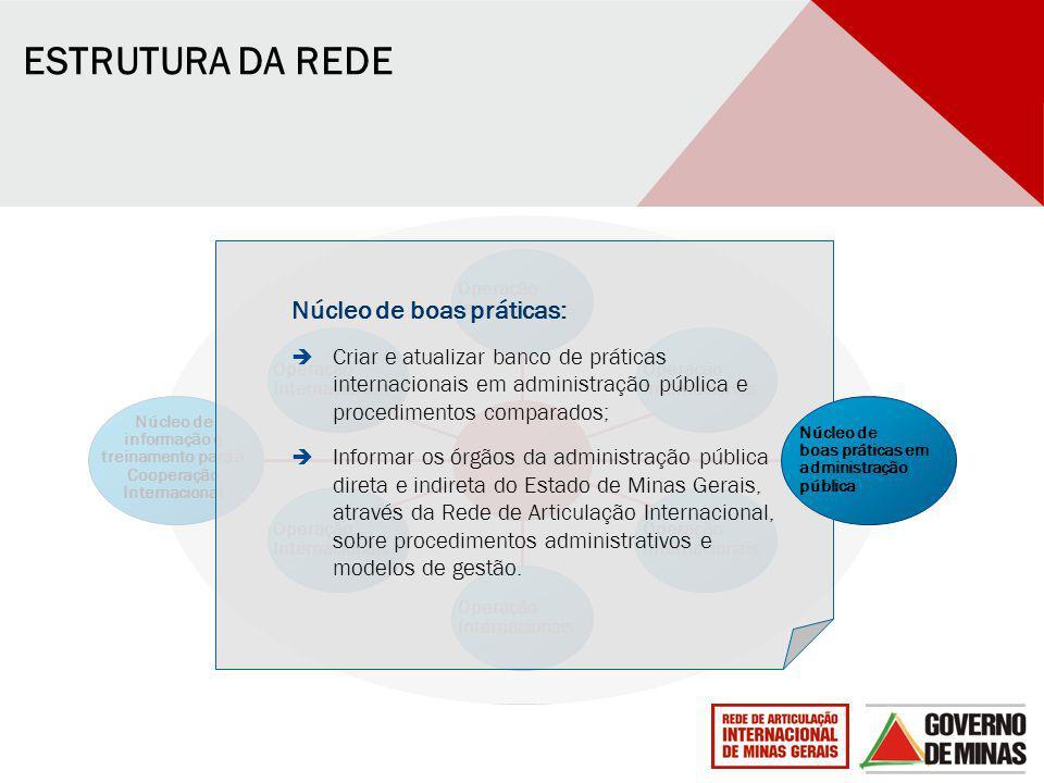 Núcleo de informação e treinamento para a Cooperação Internacional