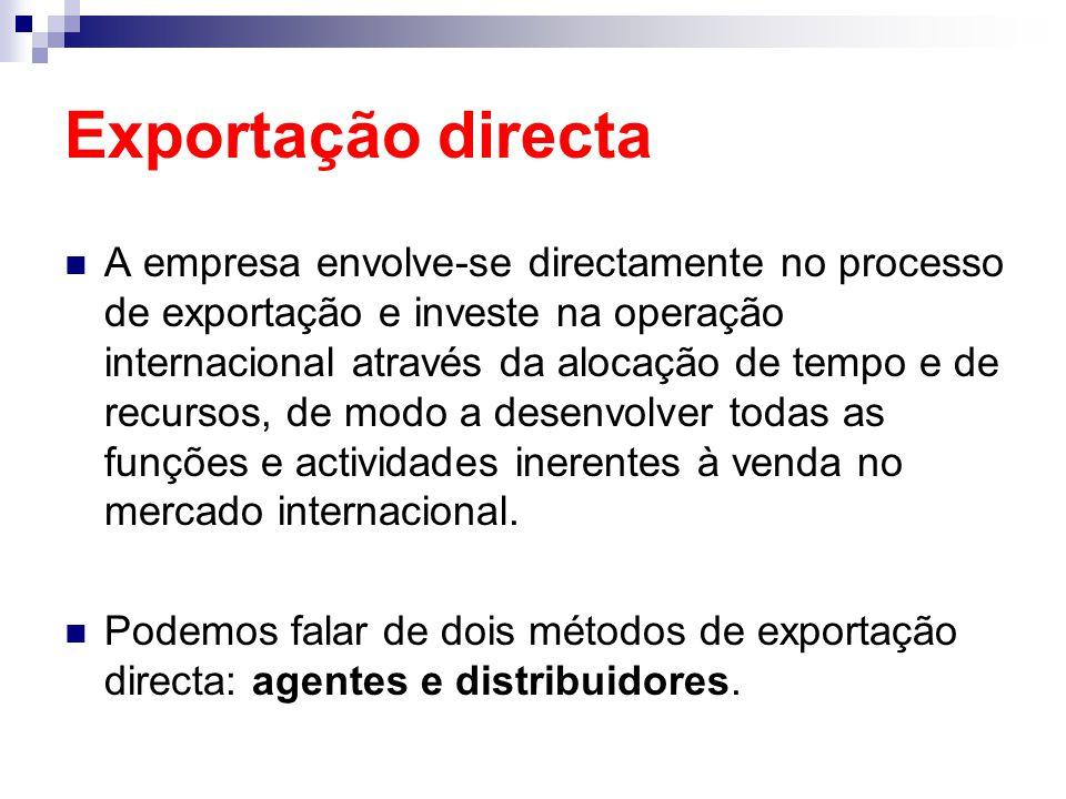 Exportação directa