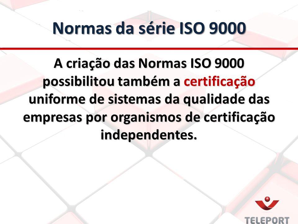 Normas da série ISO 9000
