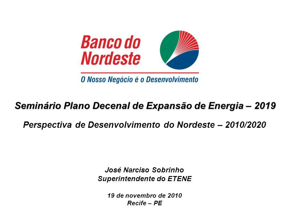 Seminário Plano Decenal de Expansão de Energia – 2019