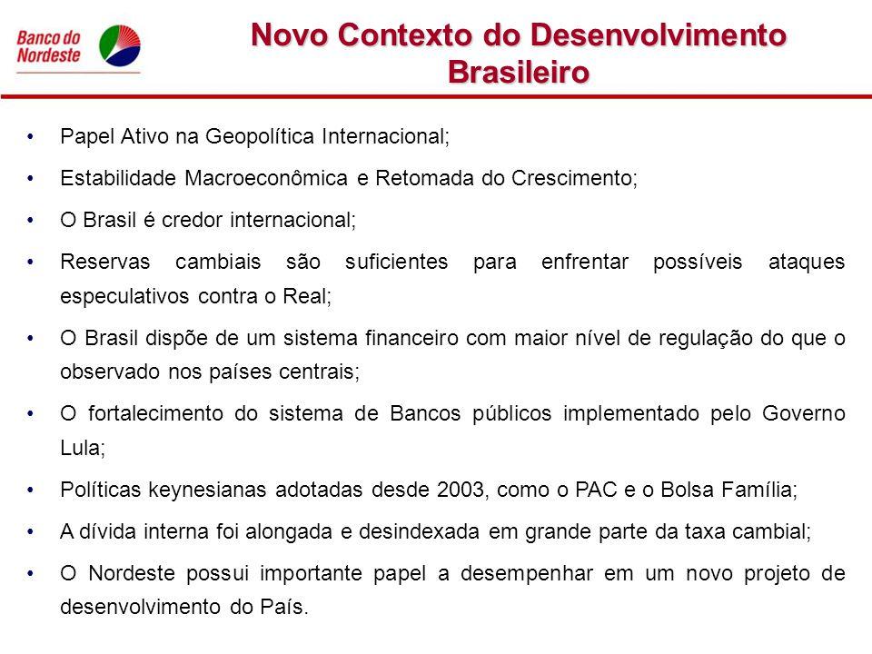 Novo Contexto do Desenvolvimento Brasileiro