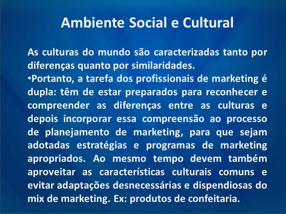 Ambiente Social e Cultural