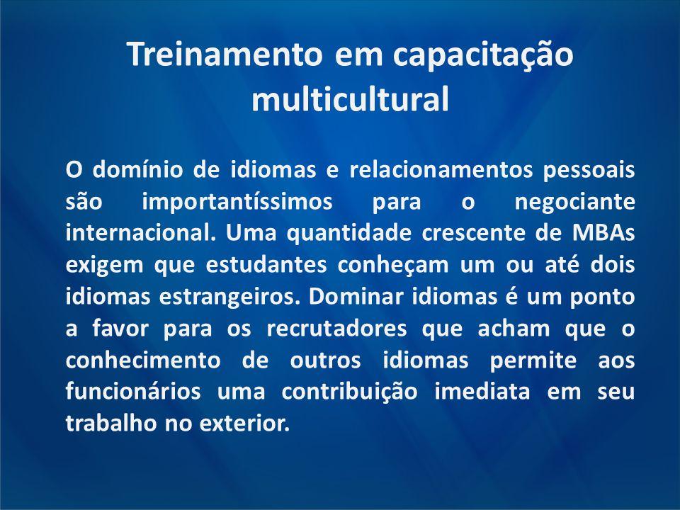 Treinamento em capacitação multicultural