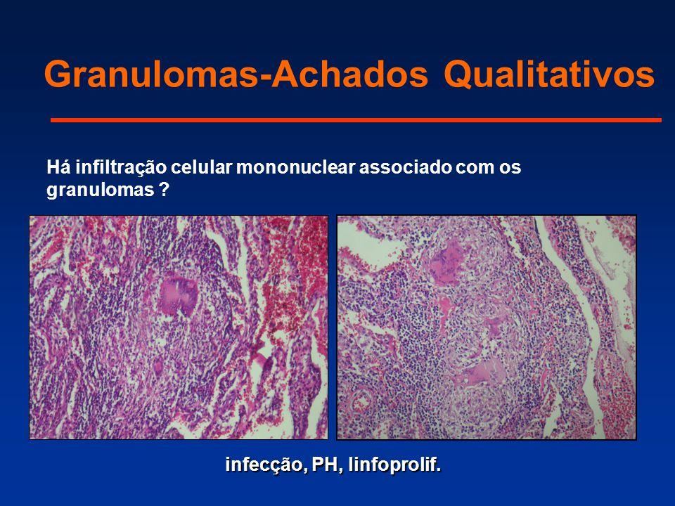 Granulomas-Achados Qualitativos