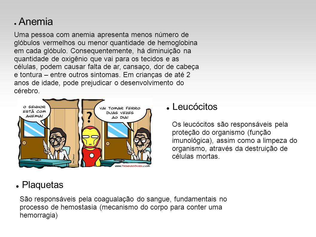 Leucócitos Plaquetas Anemia