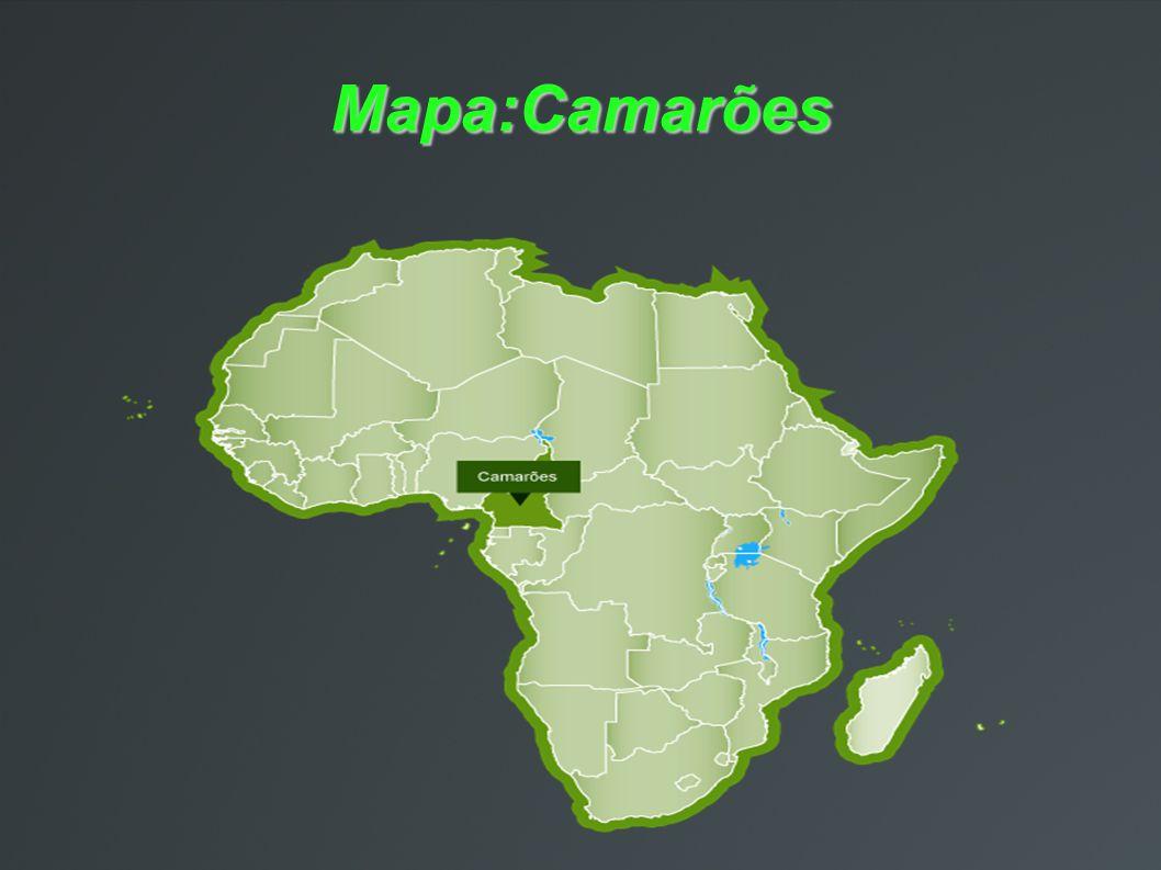 Mapa:Camarões