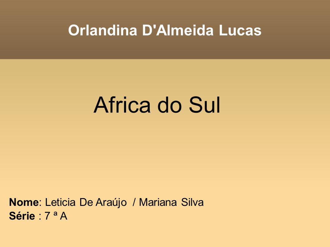 Orlandina D Almeida Lucas