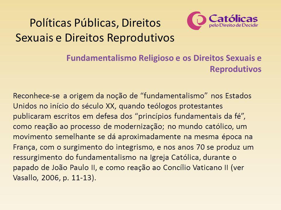 Políticas Públicas, Direitos Sexuais e Direitos Reprodutivos