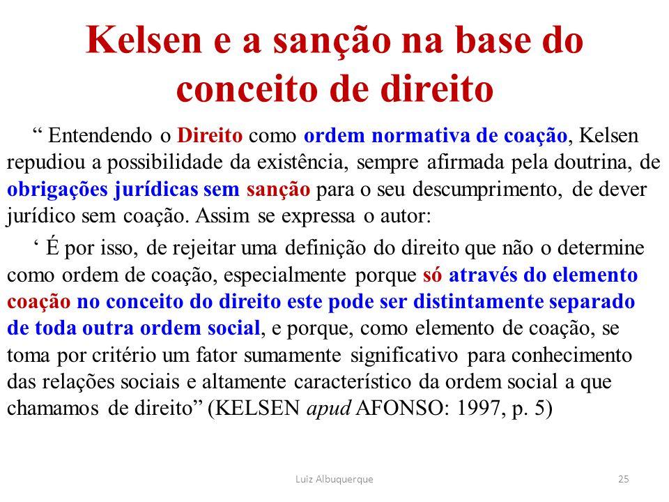 Kelsen e a sanção na base do conceito de direito