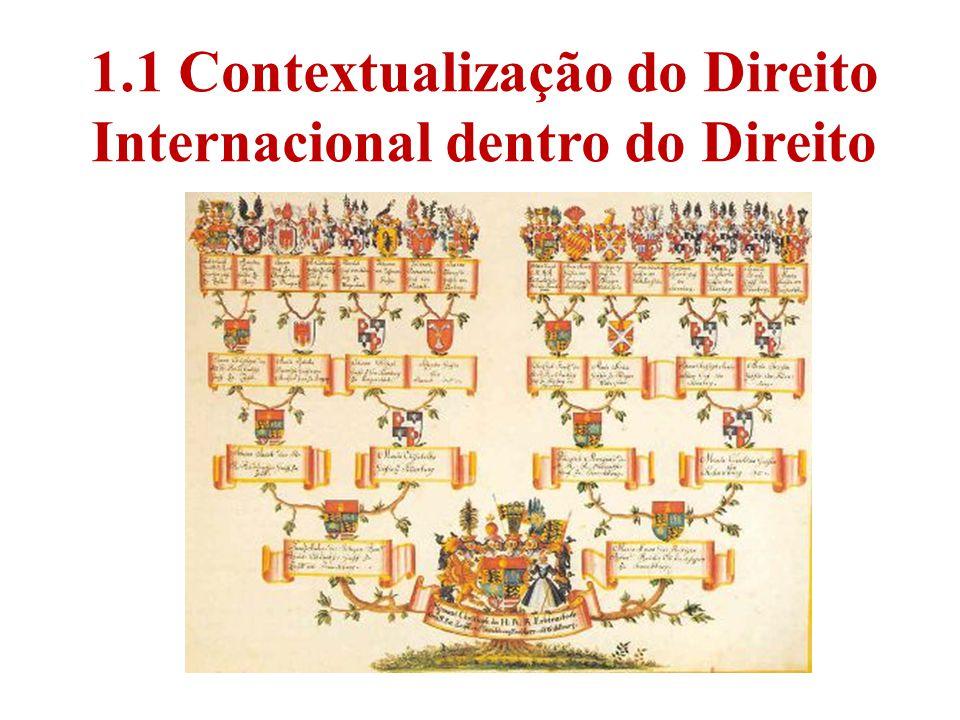 1.1 Contextualização do Direito Internacional dentro do Direito