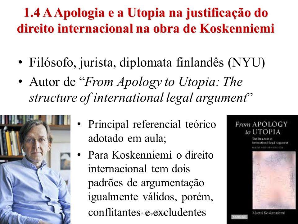 Filósofo, jurista, diplomata finlandês (NYU)