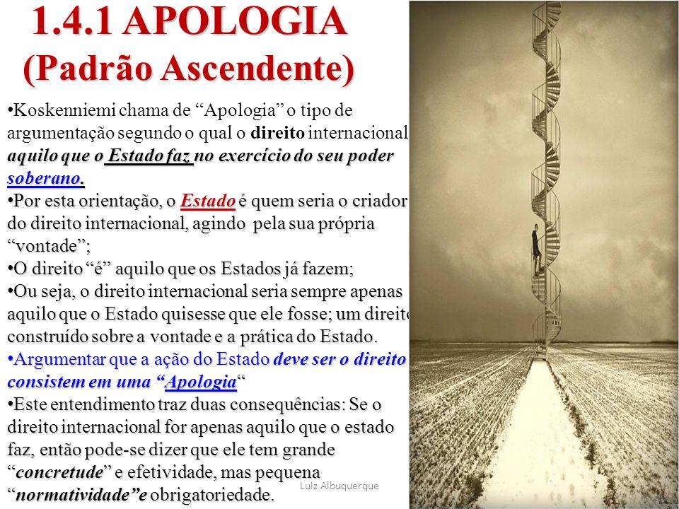 1.4.1 APOLOGIA (Padrão Ascendente)