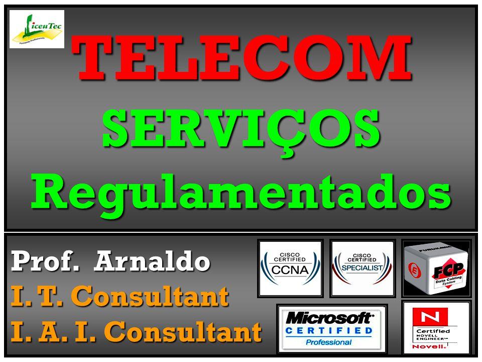 TELECOM SERVIÇOS Regulamentados