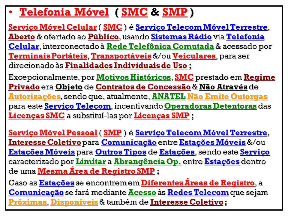 Telefonia Móvel ( SMC & SMP )