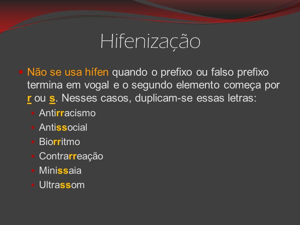 Hifenização