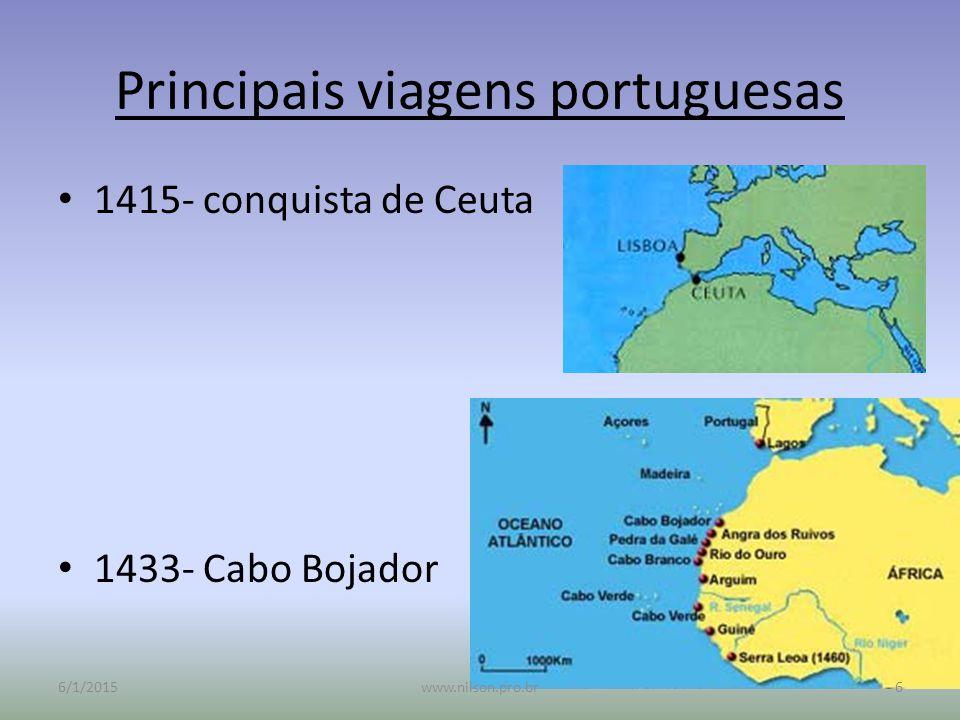 Principais viagens portuguesas