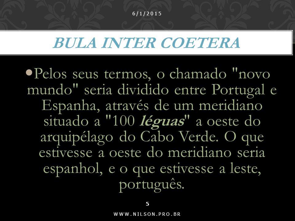 07/04/2017 Bula Inter Coetera.