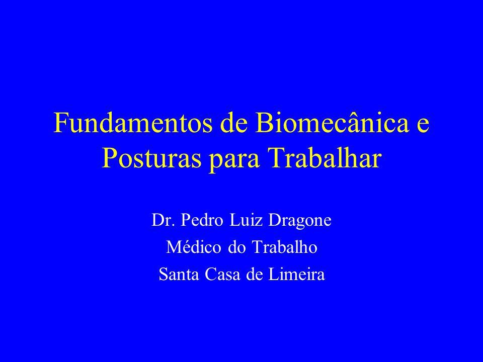 Fundamentos de Biomecânica e Posturas para Trabalhar