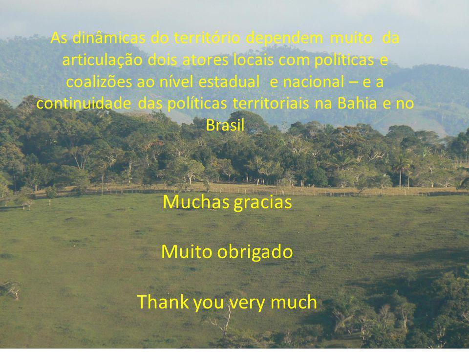 Muchas gracias Muito obrigado Thank you very much