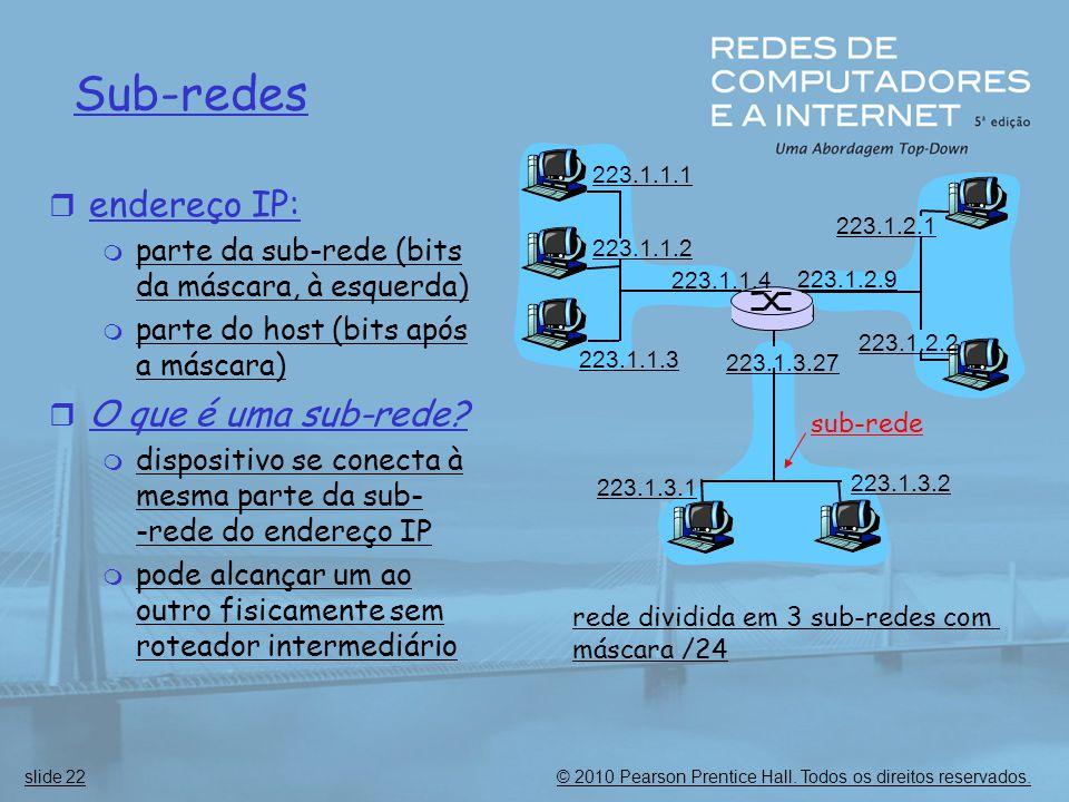 Sub-redes endereço IP: O que é uma sub-rede