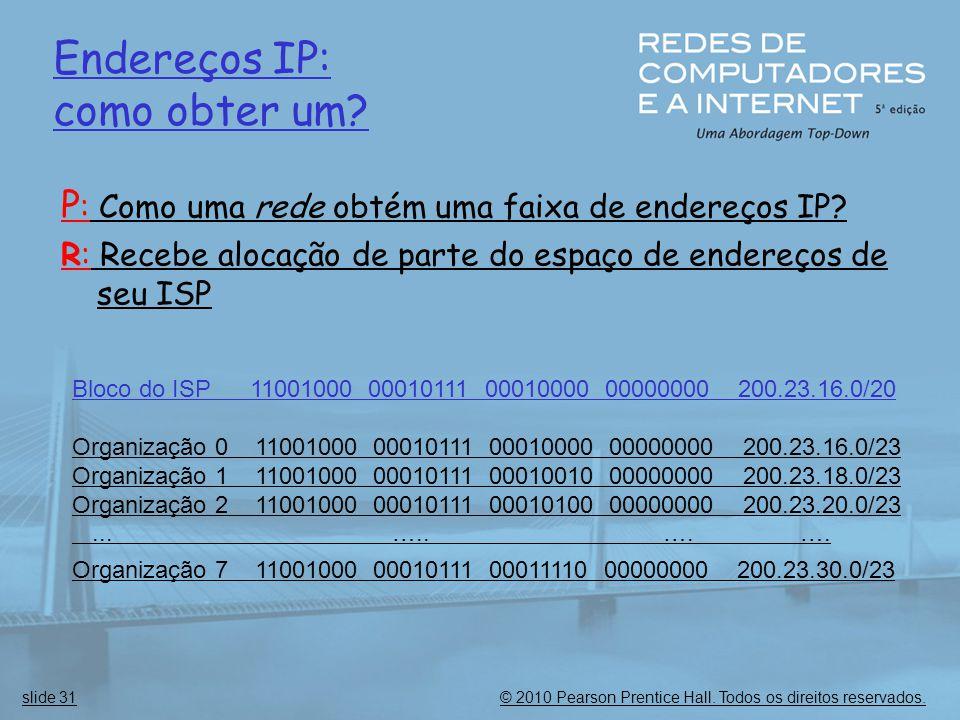 Endereços IP: como obter um