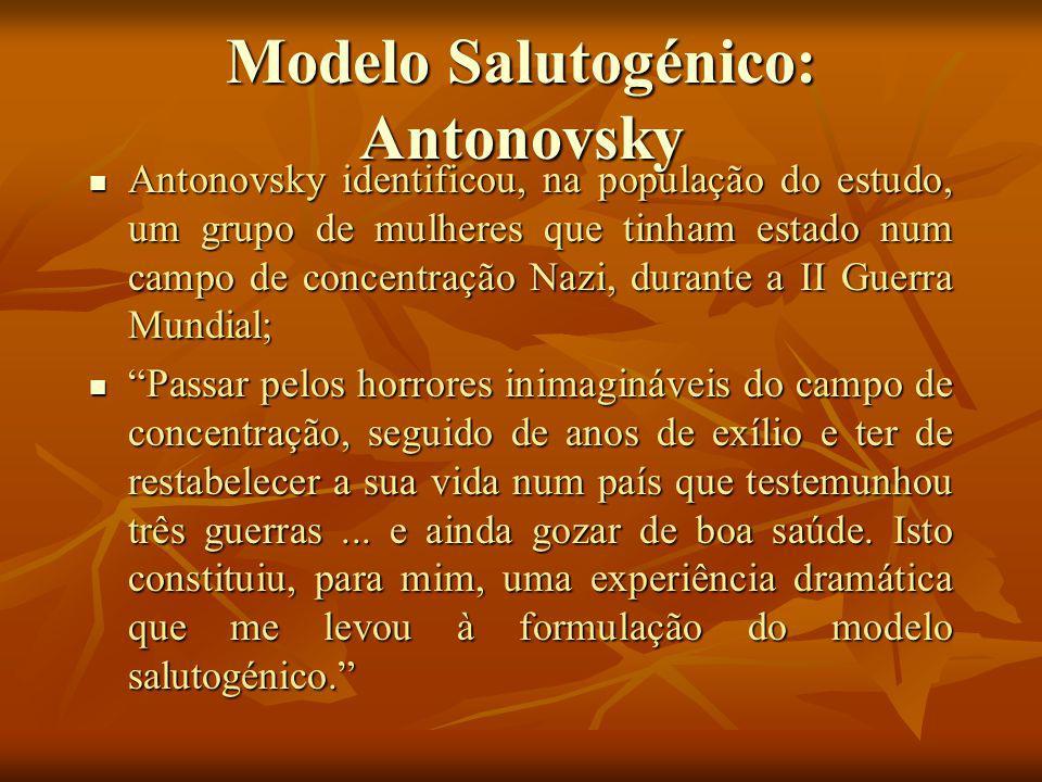 Modelo Salutogénico: Antonovsky