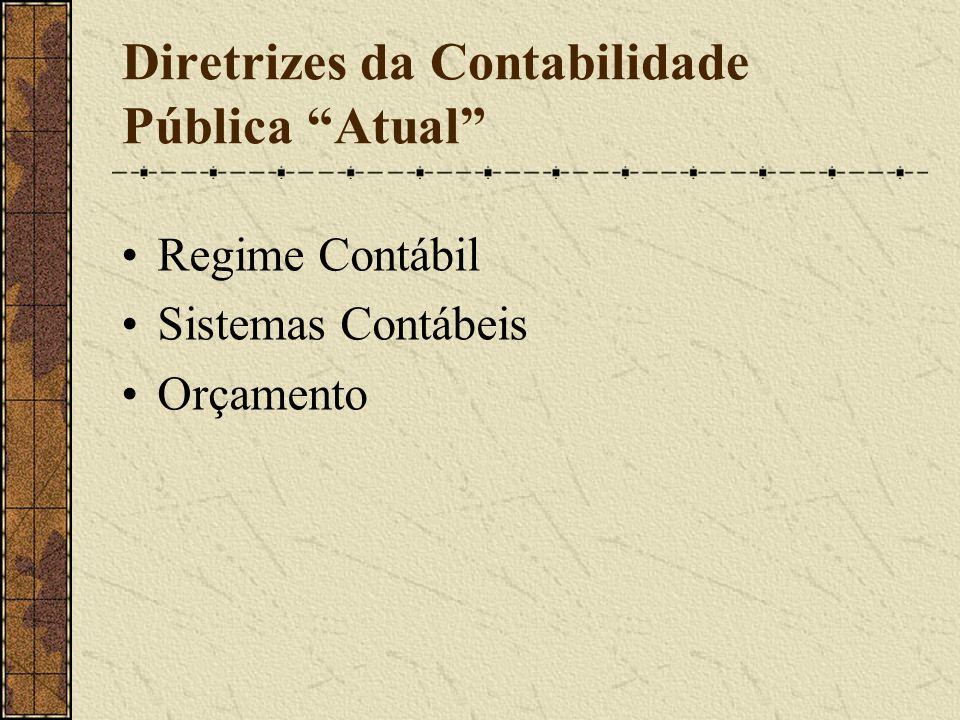 Diretrizes da Contabilidade Pública Atual