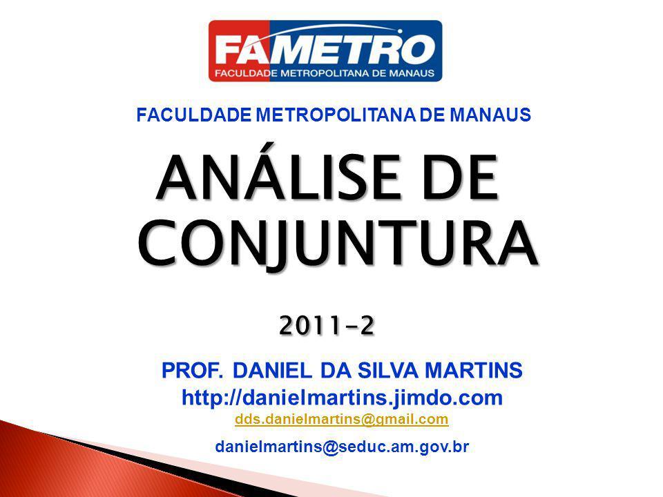 FACULDADE METROPOLITANA DE MANAUS PROF. DANIEL DA SILVA MARTINS