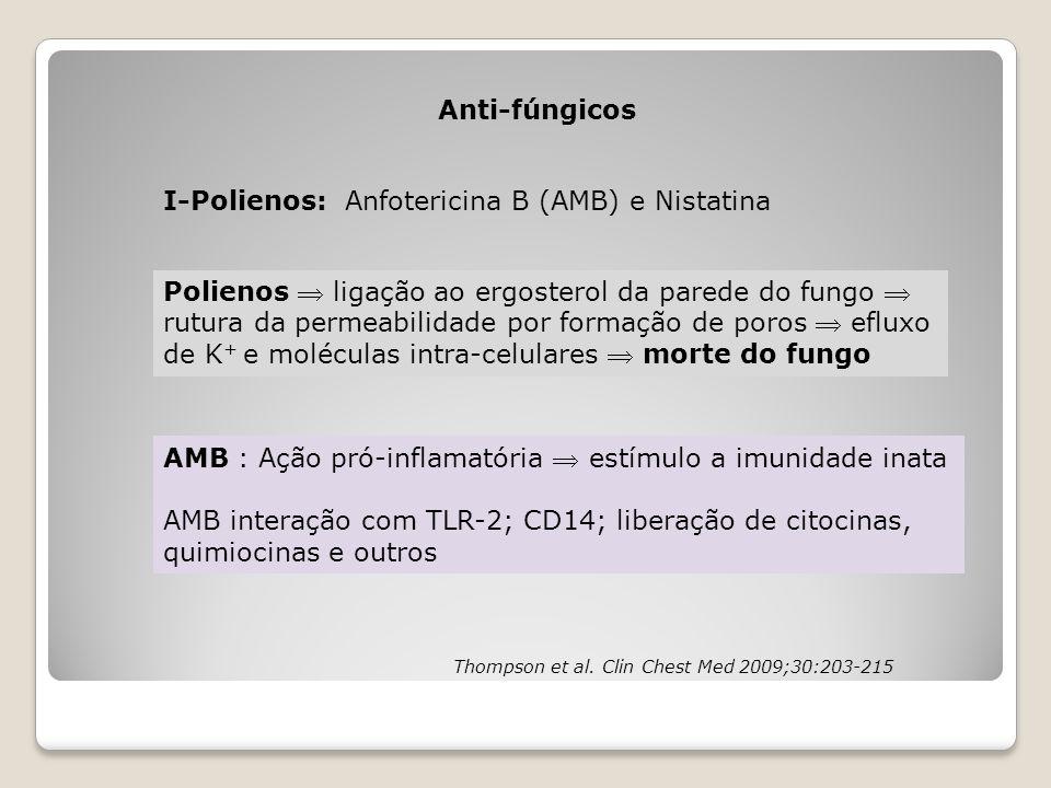 I-Polienos: Anfotericina B (AMB) e Nistatina