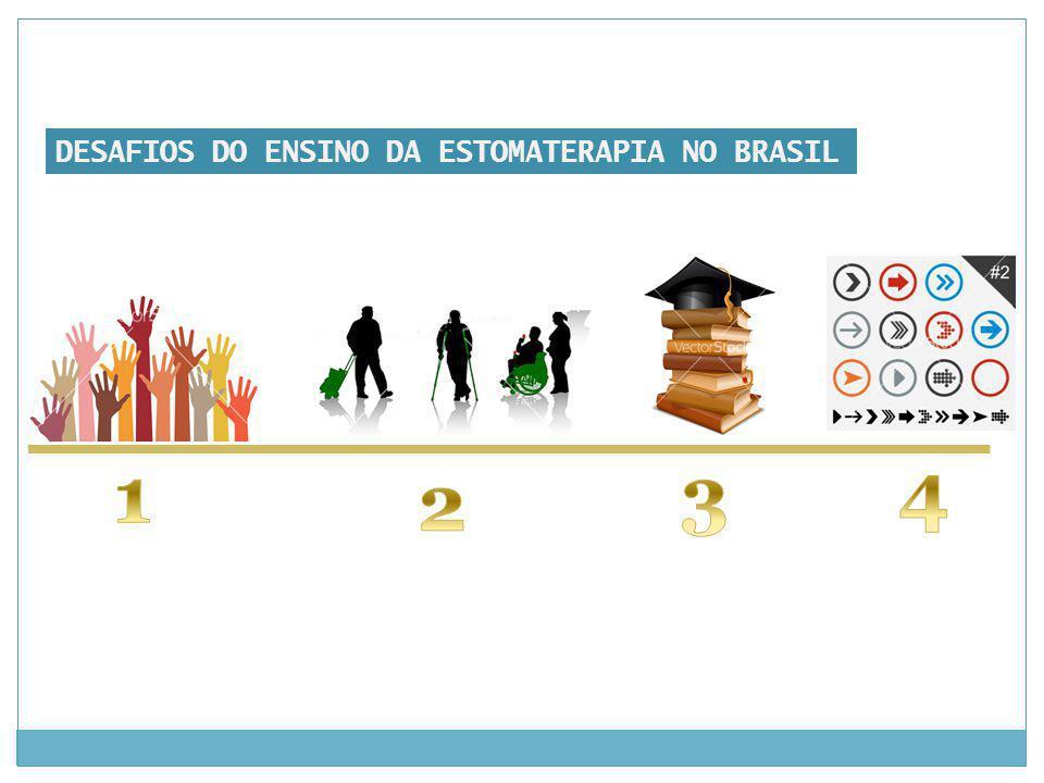 DESAFIOS DO ENSINO DA ESTOMATERAPIA NO BRASIL